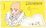 Sellos del Mundo : Europa : España : Literatura-Cervantes (22)