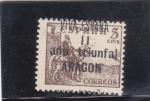 Stamps Spain -  el Cid -año triunfal Aragón (22)