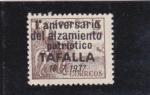 Stamps : Europe : Spain :  el Cid- alzamiento patriotico Tafalla (22)
