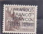 Stamps Spain -  el Cid- Franco-Franco arriba España  (22)