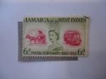 Sellos de America - Jamaica -  Jamaica - West Indies - Postal Centenary.1860-1969.- Antillas.