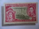 Sellos de Africa - Zimbabwe -  King George VI - Queen Elizabeth - 12thMay 1937.