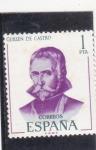 Stamps Spain -  Guillem de Castro (22)