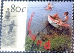 Stamps Netherlands -  Intercambio 0,25 usd 80 cent. 1997