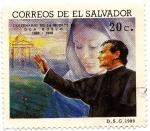 Stamps El Salvador -  CENTENARIO DE LA MUERTE DE DON BOSCO