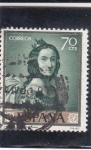 Sellos de Europa - España -  Sta. Casilda (Zurbaran) (22)