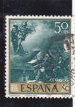Stamps : Europe : Spain :  fantasias (Fortuny) (22)
