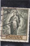 Sellos de Europa - España -  la virgen de los faroles (Romero de Torres) (22)