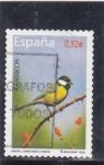 Stamps Spain -  fauna- carbonero común  (22)