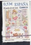 Stamps Spain -  el patio de mi casa (22)