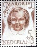 Sellos de Europa - Holanda -  Intercambio crxf 0,50 usd 5+2 cent. 1946