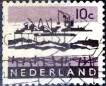 Sellos de Europa - Holanda -  Intercambio 0,20 usd 10 cent. 1963