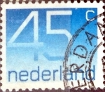 Stamps : Europe : Netherlands :  Intercambio 0,20 usd 45 cent. 1976