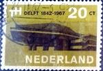 Sellos de Europa - Holanda -  Intercambio crxf 0,20 usd 20 cent. 1967