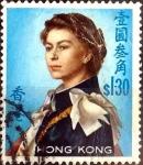 Sellos del Mundo : Asia : Hong_Kong : Intercambio 0,20 usd 1,30 dólares 1962