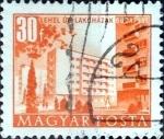 Sellos del Mundo : Europa : Hungría : Intercambio 0,20 usd  30 f. 1951