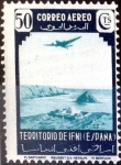 Stamps Spain -  Intercambio jxi 0,40 usd 50 cent. 1943