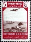 Sellos de Europa - España -  Intercambio jxi 0,30 usd 5 cent. 1943