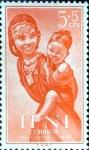 Sellos de Europa - España -  Intercambio jxi 0,25 usd 5+5 cent. 1954