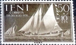 Stamps Spain -  Intercambio jxi 0,30 usd 50+10 cent. 1958