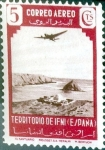 Stamps Spain -  Intercambio crxf 0,30 usd 5 cent. 1943
