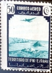 Stamps Spain -  Intercambio crxf 0,40 usd 50 cent. 1943