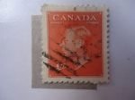 Sellos de America - Canadá -  George VI (Scoot/Ca:306)