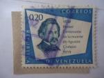 Stamps Venezuela -  Primer Centenario de la Muerte de Agustín Codzzi 1859-1959.