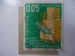 Stamps Venezuela -  Censo Nacional 1960 - Nacional Census.