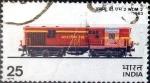 Stamps India -  Intercambio nfxb 0,25 usd 25 p. 1976