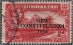 Sellos del Mundo : Europa : Gibraltar : Constitución de 1950