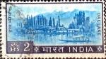 Stamps India -  Intercambio 0,20 usd 2 R. 1967