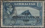 Sellos de Europa - Gibraltar -  Constitución de 1950