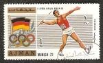 Sellos del Mundo : Asia : Emiratos_Árabes_Unidos : Juegos Olímpicos de Múnich 1972