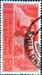 Stamps : Asia : India :  Intercambio crf 0,50 usd 20 p. 1971