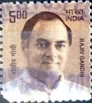 Stamps : Asia : India :  Intercambio 0,20 usd 5 rupias 2010