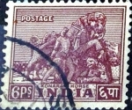 Stamps India -  Intercambio 0,20 usd 6 p. 1949