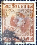 Sellos de Europa - Holanda -  Intercambio crxf 0,20 usd 10 cent. 1895