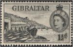 Sellos del Mundo : Europa : Gibraltar : Industria atunera