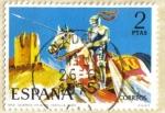 Sellos de Europa - España -  UNIFORMES - Guardia vieja de Castilla 1493