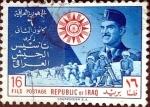 Stamps : Asia : Iraq :  Intercambio crxf 0,70 usd 16 f. 1960
