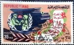 Stamps : Asia : Iraq :  Intercambio crxf 0,25 usd 35 f. 1972
