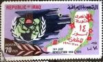 Stamps : Asia : Iraq :  Intercambio crxf 1,00 usd 70 f. 1972