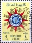 Sellos de Asia - Irak -  Intercambio crxf 0,20 usd 4 f. 1959