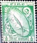 Sellos del Mundo : Europa : Irlanda : Intercambio 0,40 usd  1/2 p. 1922