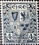 Stamps Ireland -  Intercambio 0,40 usd  4 p. 1940