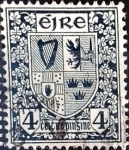 Sellos del Mundo : Europa : Irlanda : Intercambio 0,40 usd  4 p. 1940