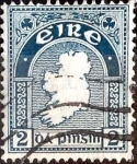 Sellos del Mundo : Europa : Irlanda : Intercambio 0,40 usd  2 p. 1922
