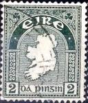 Stamps : Europe : Ireland :  Intercambio 0,40 usd  2 p. 1940
