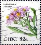 Stamps Ireland -  Intercambio 1,50 usd  82 cent. 2008